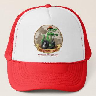 EcoMotion rouge voyage le casquette