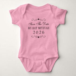 Économies de bat mitzvah le bébé de date body