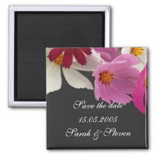 Économies de bouquet de fleurs de ressort l'aimant