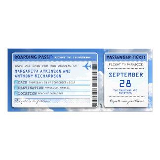 économies de carte d embarquement que la date étiq invitations personnalisées