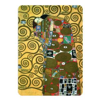 Économies de cru la date, réalisation par Klimt Carton D'invitation 12,7 Cm X 17,78 Cm