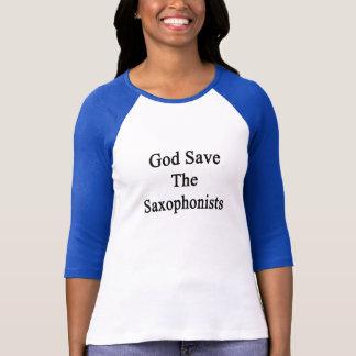 Économies de Dieu les saxophonistes T-shirt