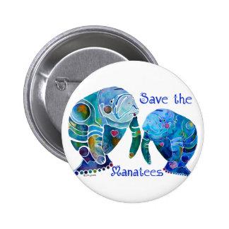 Économies de la Floride les lamantins dans les ble Badge
