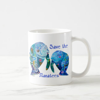 Économies de la Floride les lamantins dans les Mug