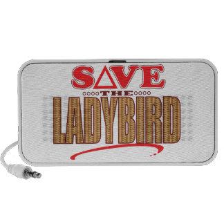 Économies de Ladybird Haut-parleurs De Voyage