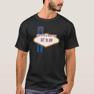 Économies de Las Vegas la date T-shirt