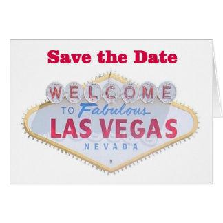 Économies de Las Vegas les cartes de date