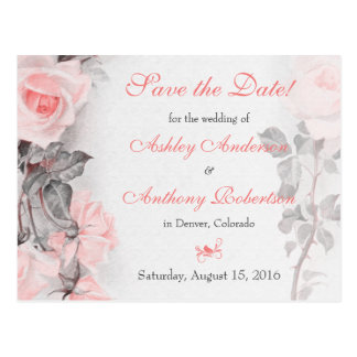 Économies de mariage de rose de rose de Primose la Carte Postale
