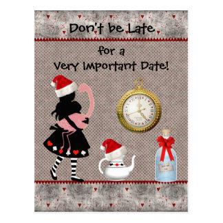 Économies de Noël du pays des merveilles le baby s Cartes Postales