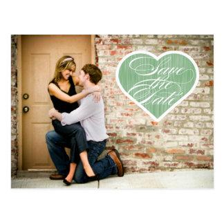 Économies de photo du coeur | la carte postale de