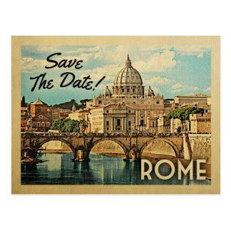 Économies de Rome le cru Italie de date Carte Postale