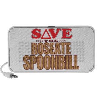 Économies de spatule rose haut-parleur mobile