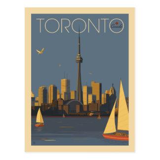 Économies de Toronto Canada | la date Carte Postale