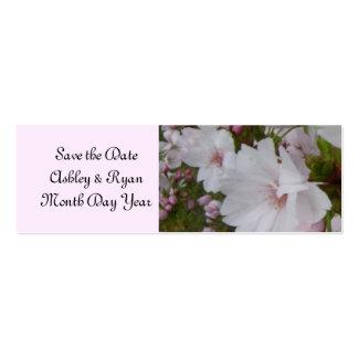 Économies élégantes de fleurs de cerisier la date