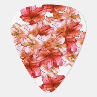 Économies florales d'illustration de fleur de onglet de guitare