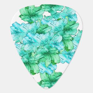 Économies vert-bleu d'illustration de fleur la onglet de guitare