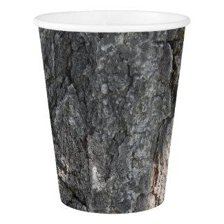 Écorce d'arbre gobelets en papier