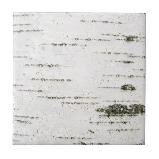 Écorce de bouleau petit carreau carré