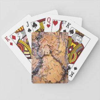 Écorce de pin de Ponderosa, Washington Cartes À Jouer