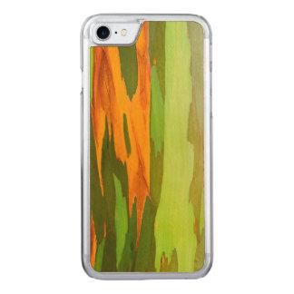 Écorce d'eucalyptus d'arc-en-ciel, Hawaï Coque Carved Pour iPhone 7