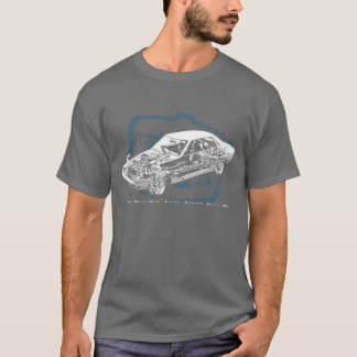 Écorché de Celica T-shirt