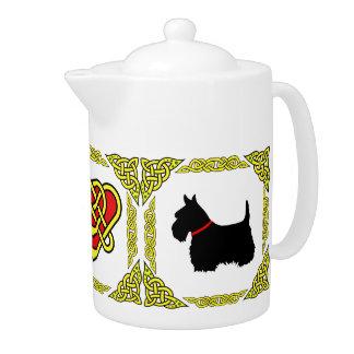 Écossais celtique Terrier 5 de noir de coeur de