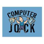 Écossais d'ordinateur de geek carte postale