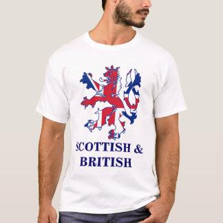 Écossais patriote et Brtish T-shirt