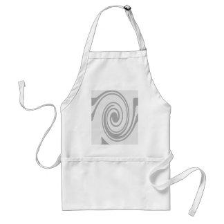 Écoulement en spirale gris de motif de gauche à tablier