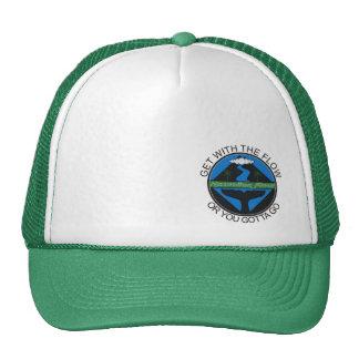 Écoulement hawaïen casquette trucker