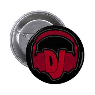 écouteur du DJ de musique Badges
