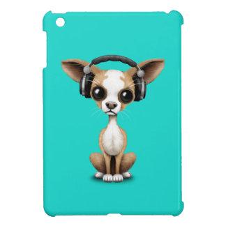 Écouteurs de port de chiot mignon de chiwawa étuis iPad mini