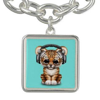 Écouteurs de port mignons de CUB de tigre Bracelet