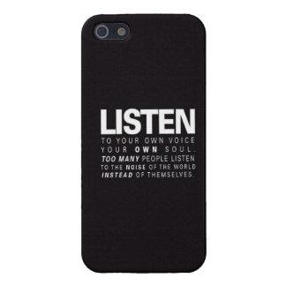 Écoutez Étuis iPhone 5