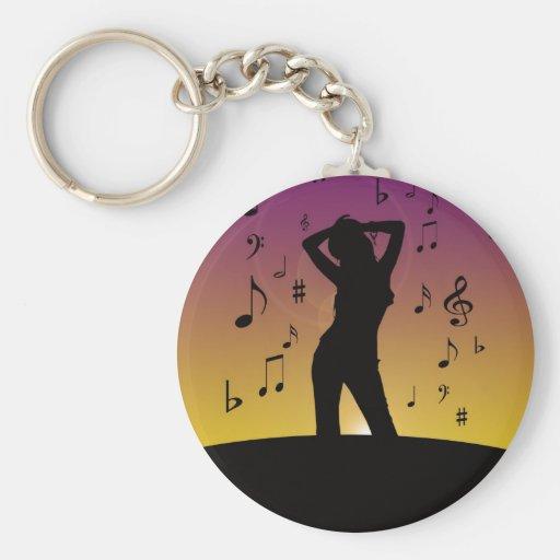 Écoutez la musique porte-clés