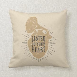 Écoutez vos coussins de coeur