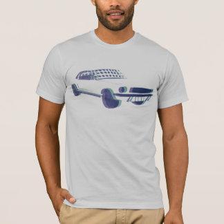 Écran en soie de mustang t-shirt