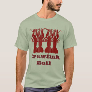 Écrevisses (bouillies) t-shirt