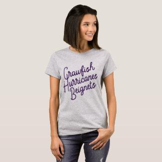 Écrevisses, ouragans, Beignets T-shirt