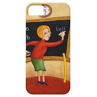Écriture de professeur sur le tableau noir et coques Case-Mate iPhone 5