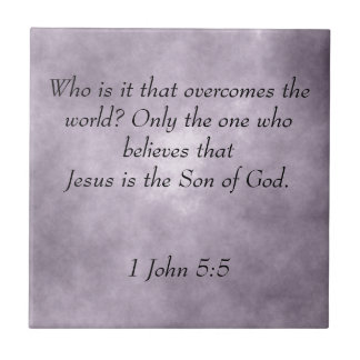 Écriture sainte de Jésus Petit Carreau Carré