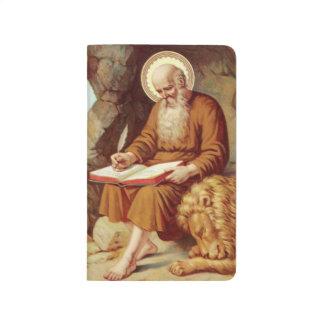 Écriture sainte d'écriture de St Jerome avec le Carnet De Poche
