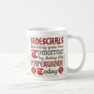 Écritures drôles de Seneschal de SCA Mug