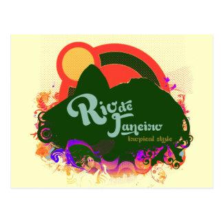 Écrivez au sujet du Rio de Janeiro Carte Postale