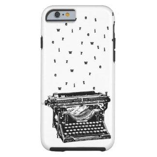 Écrivez/caisse de machine à écrire coque tough iPhone 6