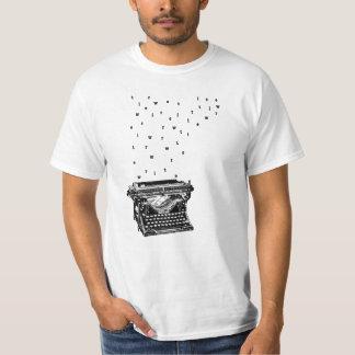 Écrivez la pièce en t t-shirt