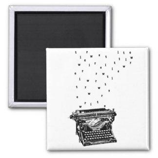 Écrivez l'aimant magnet carré