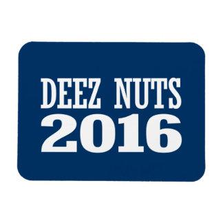 Écrous 2016 de Deez Magnets Rectangulaire