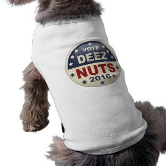 Écrous de Deez II T-shirt Pour Chien