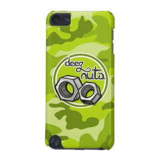 Écrous drôles camo vert clair camouflage